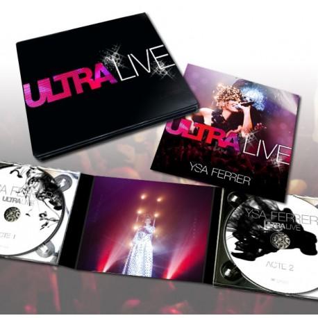 Ultra live collector 2 cd ysa ferrer boutique officielle - Code promo la boutique officielle frais de port ...