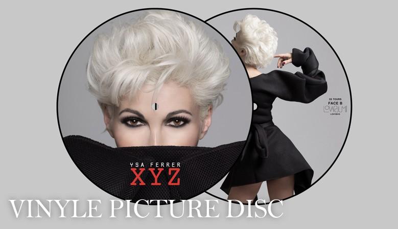 VINYLE PICTURE DISC - XYZ