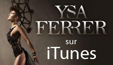 Ysa Ferrer sur iTunes